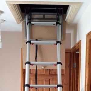 telescopic-loft-ladder-open