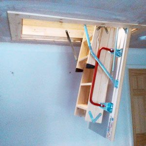 wooden-loft-ladder-half-open