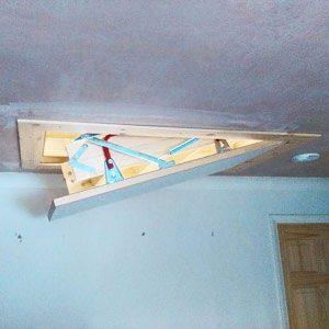 wooden-loft-ladder-opening